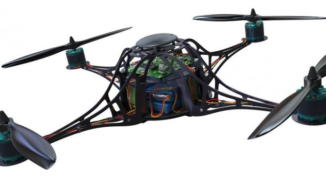 Quadrocopter Drohne