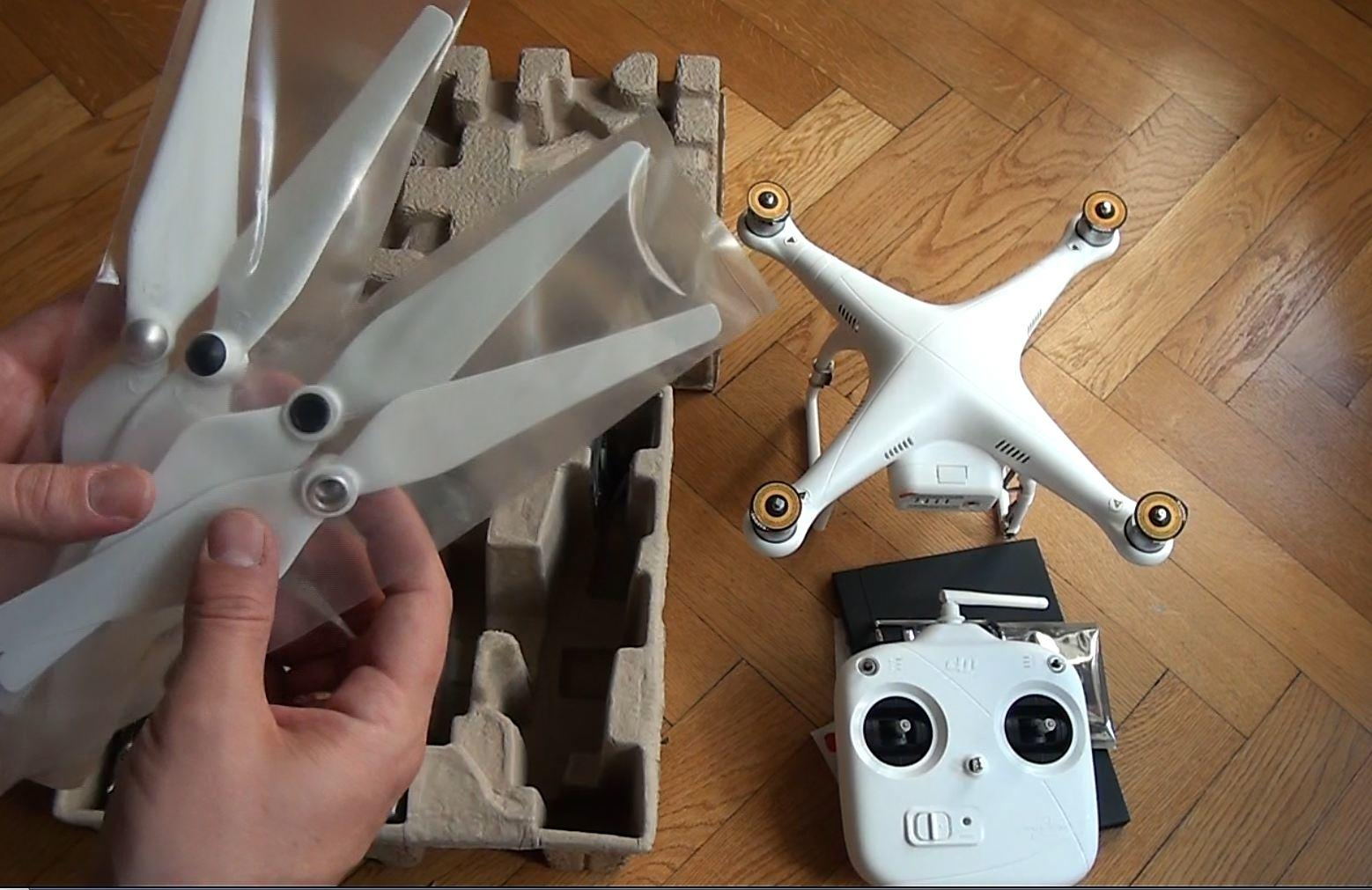 DJI Phantom 2 Unboxing auf Deutsch