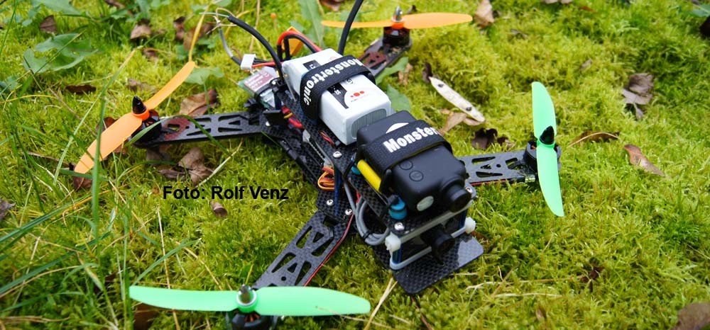 FPV Racing 250er Mini Quadrocopter