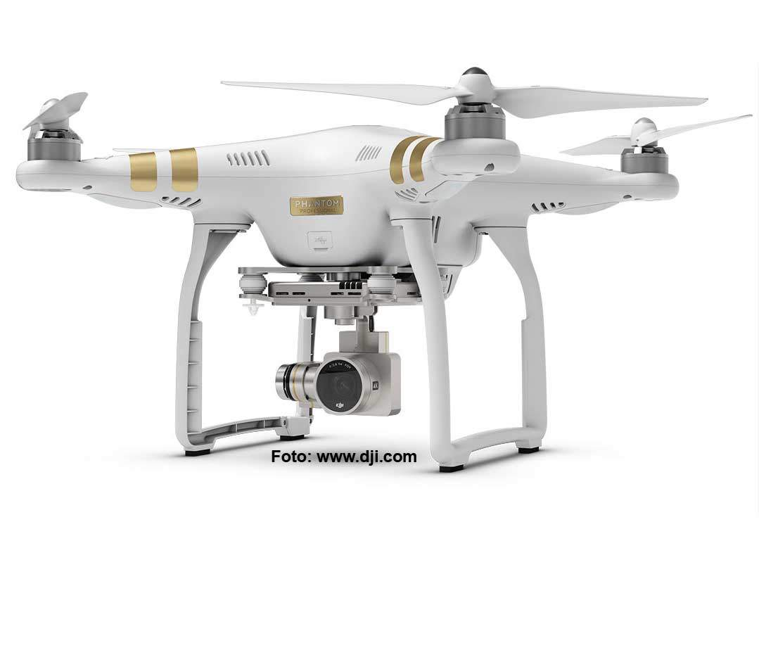 DJI Phantom 3 Quadrocopter Professional Version
