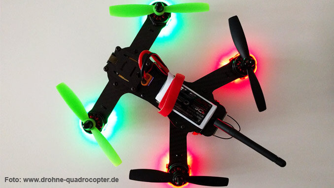Redcon Phoenix 210 - FPV-Racing Quadrocopter