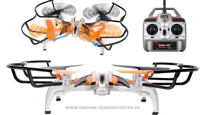 Quadrocopter / Drohne Guidro von Carrera RC