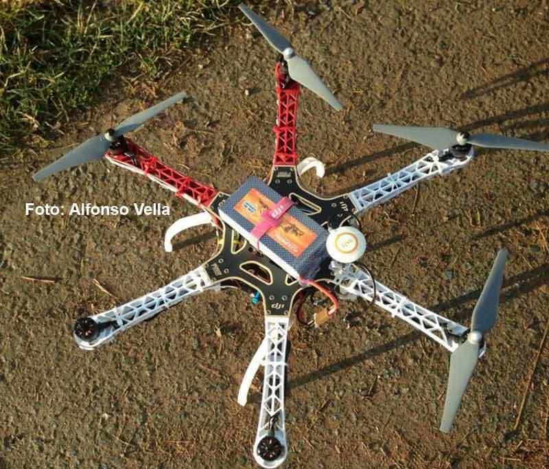 DJI F550 Flame Wheel - Test + Video + Fotos!