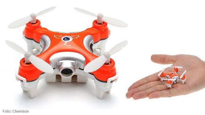 cheerson cx 10c mini quadrocopter mit kamera im test. Black Bedroom Furniture Sets. Home Design Ideas