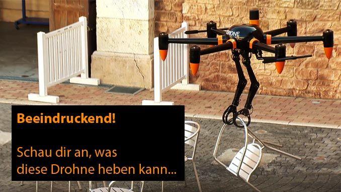 Prodrone - Greifarm-Drohne / Hexacopter