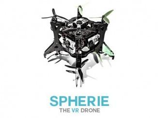 360-Grad-Kameradrohne Spherie von Spice VR