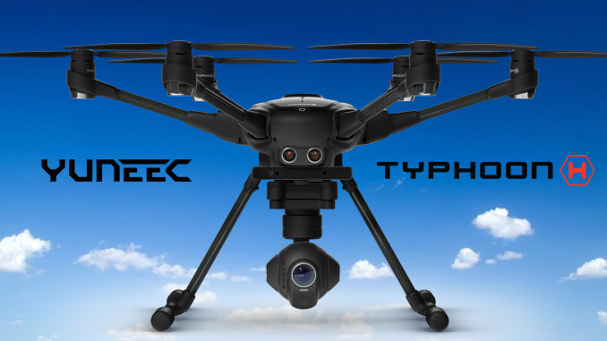 yuneec typhoon h hexacopter 4k drohne im testbericht. Black Bedroom Furniture Sets. Home Design Ideas