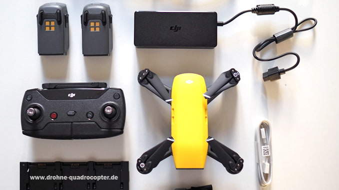 DJI Spark Quadrocopter - Testbericht & Spark kaufen